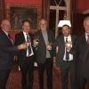 Pictured from left to right:  Mr. Jean- Marc Brunschwig, Mr. Eric Stupp, Prof. David Harel, Mr. Zohar Menshes, Mr. Alex Dembitz