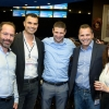 (L-R) Guy Magen (from HSBC Private Banking), Amir Shaltiel, Gal Aviv, Uri Shapan (from HSBC), and Yael Goren-Wegman.