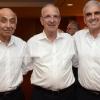 (L-R, above) Yitzhak Suary, Shimshon Harel, Dr. Joseph Bachar. (L-R, below): Tova Sagol, Hana and Gideon Hamburger, Sara Sela.