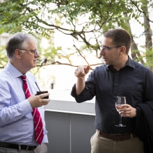 Dr. Dan Andreae (left) and Dr. Ivo Spiegel