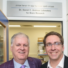 (L-R) Dr. Dan Andreae and Dr. Ivo Spiegel