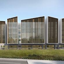 The neuroscience building rendering