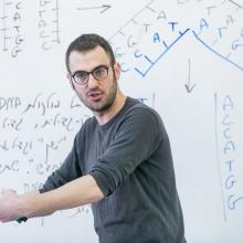 High school science teacher Nadav Caspi.