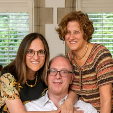 L to R: Liddy, Anthony, and Cathy Beck