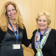 (L-R) Prof. Michal Sharon and Dr. Merry Sherman