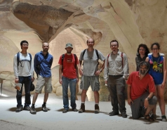 2012 - Lab Trip to Caves of the Judean Hills picture no. 13