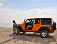2013 - Lab Trip: Jeeps in the Judean Desert picture no. 15