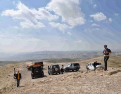 2013 - Lab Trip: Jeeps in the Judean Desert picture no. 17
