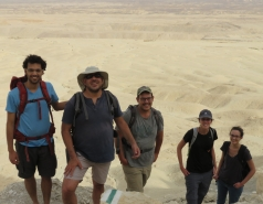 2017 - Lab Trip from Makhtesh Gadol to Gev Yamin (2 days) picture no. 6