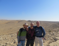 2014 - Lab Trip to Wadi Hatzatz and Wadi Daroch picture no. 29