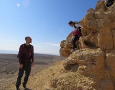 2014 - Lab Trip to Wadi Hatzatz and Wadi Daroch picture no. 39