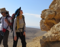 2014 - Lab Trip to Wadi Hatzatz and Wadi Daroch picture no. 43