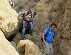 2014 - Lab Trip to Wadi Hatzatz and Wadi Daroch picture no. 69