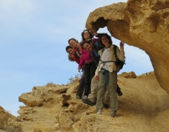 2014 - Lab Trip to Wadi Hatzatz and Wadi Daroch