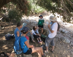 2014 - Lab Trip to Nahal Amud and Rappelling in the Black Canyon (2 days) picture no. 1