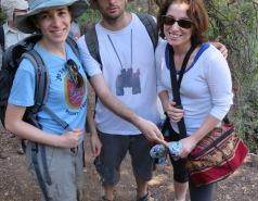 2014 - Lab Trip to Nahal Amud and Rappelling in the Black Canyon (2 days) picture no. 11