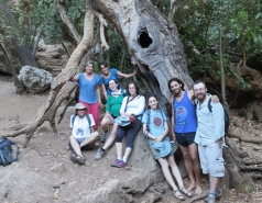 2014 - Lab Trip to Nahal Amud and Rappelling in the Black Canyon (2 days) picture no. 36