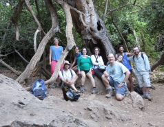 2014 - Lab Trip to Nahal Amud and Rappelling in the Black Canyon (2 days) picture no. 38