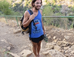 2014 - Lab Trip to Nahal Amud and Rappelling in the Black Canyon (2 days) picture no. 41