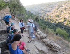 2014 - Lab Trip to Nahal Amud and Rappelling in the Black Canyon (2 days) picture no. 45