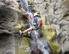 2014 - Lab Trip to Nahal Amud and Rappelling in the Black Canyon (2 days) picture no. 58