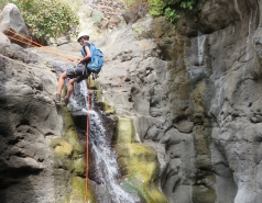 2014 - Lab Trip to Nahal Amud and Rappelling in the Black Canyon (2 days) picture no. 64