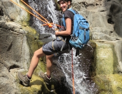 2014 - Lab Trip to Nahal Amud and Rappelling in the Black Canyon (2 days) picture no. 66