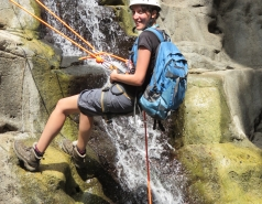 2014 - Lab Trip to Nahal Amud and Rappelling in the Black Canyon (2 days) picture no. 67