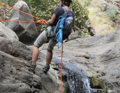 2014 - Lab Trip to Nahal Amud and Rappelling in the Black Canyon (2 days) picture no. 74