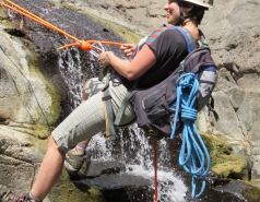 2014 - Lab Trip to Nahal Amud and Rappelling in the Black Canyon (2 days) picture no. 76