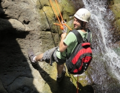 2014 - Lab Trip to Nahal Amud and Rappelling in the Black Canyon (2 days) picture no. 85