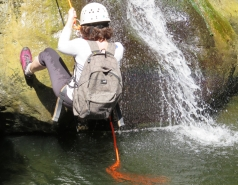 2014 - Lab Trip to Nahal Amud and Rappelling in the Black Canyon (2 days) picture no. 94