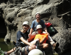 2014 - Lab Trip to Nahal Amud and Rappelling in the Black Canyon (2 days) picture no. 97