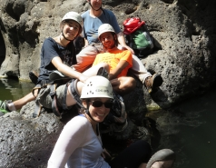 2014 - Lab Trip to Nahal Amud and Rappelling in the Black Canyon (2 days) picture no. 100