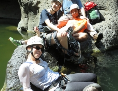 2014 - Lab Trip to Nahal Amud and Rappelling in the Black Canyon (2 days) picture no. 101