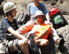 2014 - Lab Trip to Nahal Amud and Rappelling in the Black Canyon (2 days) picture no. 104