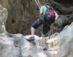 2014 - Lab Trip to Nahal Amud and Rappelling in the Black Canyon (2 days) picture no. 110
