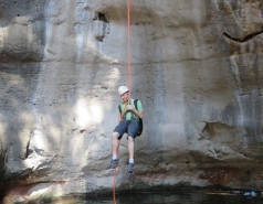 2014 - Lab Trip to Nahal Amud and Rappelling in the Black Canyon (2 days) picture no. 113