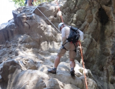 2014 - Lab Trip to Nahal Amud and Rappelling in the Black Canyon (2 days) picture no. 118