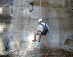 2014 - Lab Trip to Nahal Amud and Rappelling in the Black Canyon (2 days) picture no. 124
