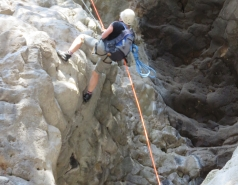 2014 - Lab Trip to Nahal Amud and Rappelling in the Black Canyon (2 days) picture no. 133