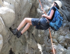 2014 - Lab Trip to Nahal Amud and Rappelling in the Black Canyon (2 days) picture no. 140
