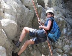 2014 - Lab Trip to Nahal Amud and Rappelling in the Black Canyon (2 days) picture no. 141