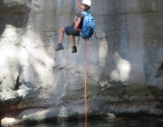 2014 - Lab Trip to Nahal Amud and Rappelling in the Black Canyon (2 days) picture no. 145