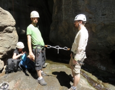 2014 - Lab Trip to Nahal Amud and Rappelling in the Black Canyon (2 days) picture no. 155