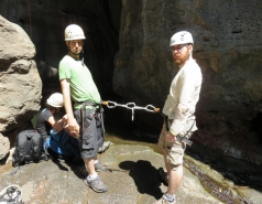 2014 - Lab Trip to Nahal Amud and Rappelling in the Black Canyon (2 days) picture no. 156