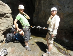 2014 - Lab Trip to Nahal Amud and Rappelling in the Black Canyon (2 days)