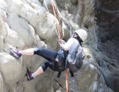 2014 - Lab Trip to Nahal Amud and Rappelling in the Black Canyon (2 days) picture no. 159