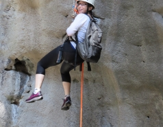 2014 - Lab Trip to Nahal Amud and Rappelling in the Black Canyon (2 days) picture no. 161
