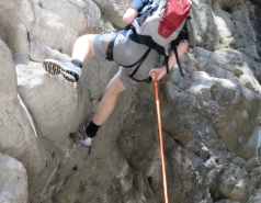 2014 - Lab Trip to Nahal Amud and Rappelling in the Black Canyon (2 days) picture no. 171